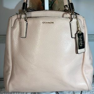 NEW Coach ~ Pebble Leather Pink Satchel